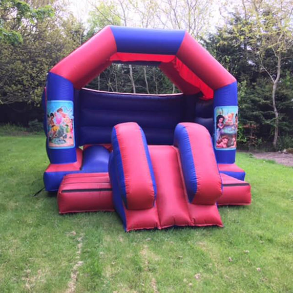 Disney Fairies Bouncy Slide - Bouncy Castles Liverpool