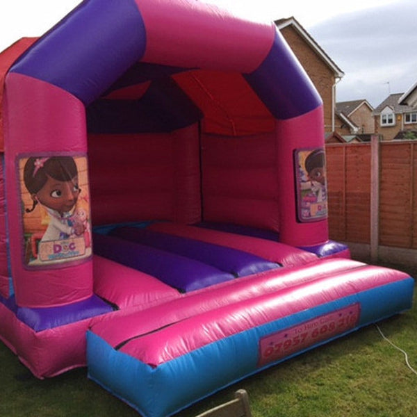Doc McStuffins Bouncy Castle - Bouncy Castles Liverpool