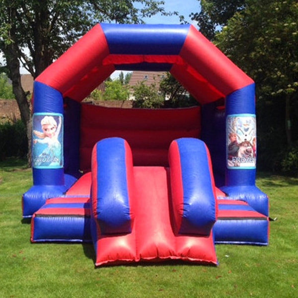 Frozen Bouncy Slide - Bouncy Castles Liverpool
