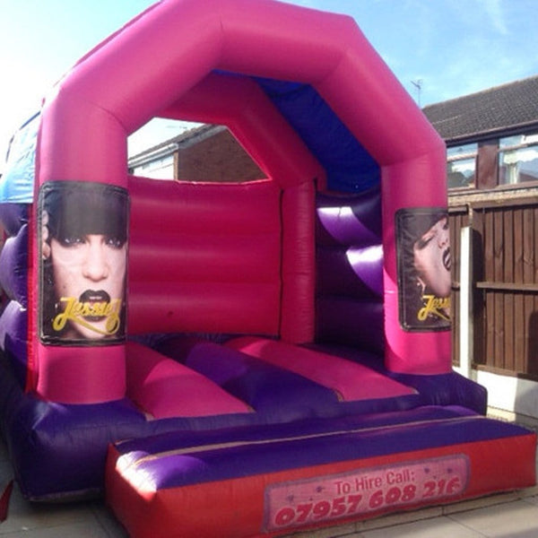 Jessie J Bouncy Castle - Bouncy Castles Liverpool