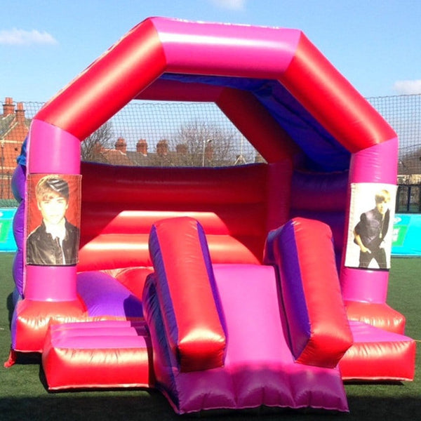 Justin Bieber Bouncy Slide - Bouncy Castles Liverpool