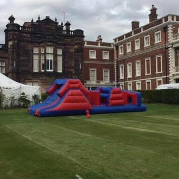 Large Assault Course - Bouncy Castles Liverpool