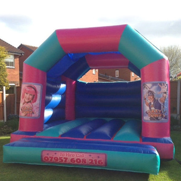 Lazy Town Bouncy Castle - Bouncy Castles Liverpool