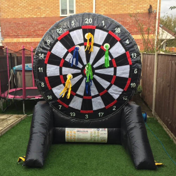 Inflatable Dart Board Hire Bouncy Castles Liverpool