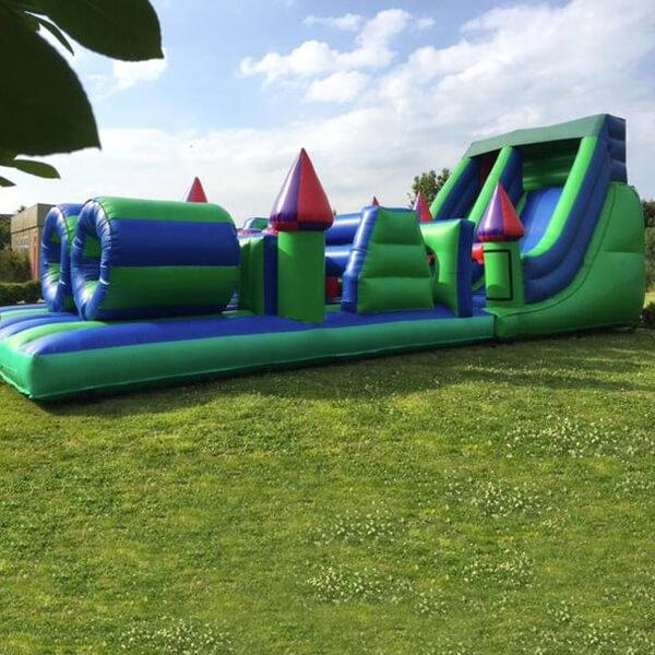 Mega Assault Course - Bouncy Castles Liverpool