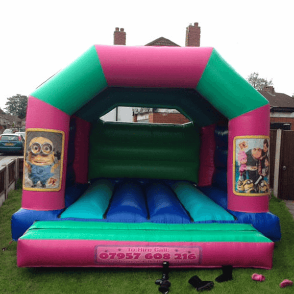Minions Bouncy Castle - Bouncy Castles Liverpool