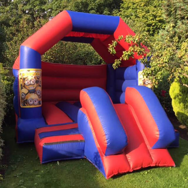 Minions Bouncy Slide - Bouncy Castles Liverpool