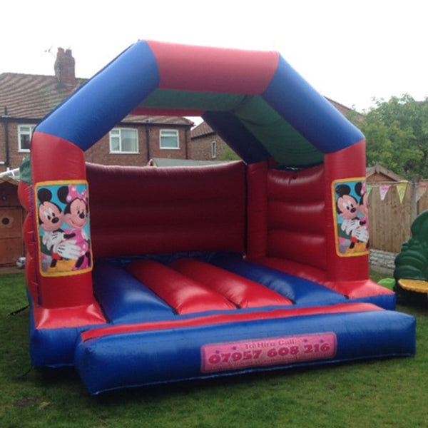 Minnie Mouse Bouncy Castle - Bouncy Castles Liverpool