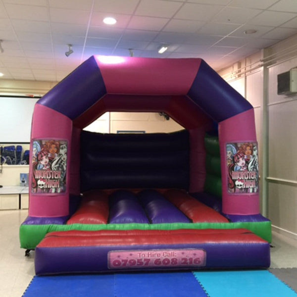 Monster High Bouncy Castle - Bouncy Castles Liverpool