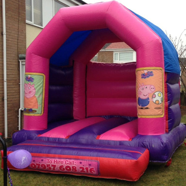Peppa Pig Bouncy Castle - Bouncy Castles Liverpool