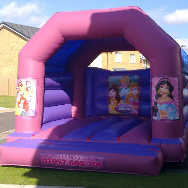 Princess Bouncy Castle - Bouncy Castles Liverpool