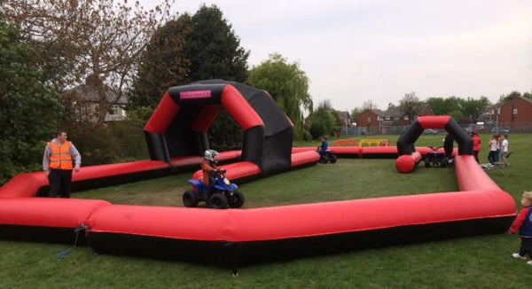 bouncy quad bike track