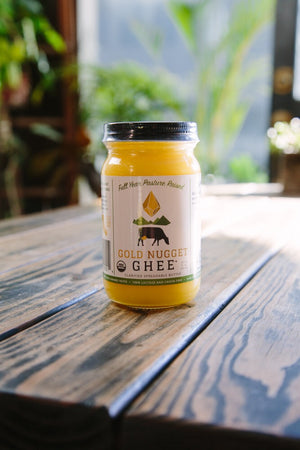 Jar of Original Ghee sold by Gold Nugget Ghee