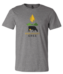 Gold Nugget Ghee logo t-shirt