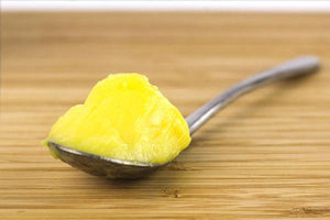 Spoonful of ghee.