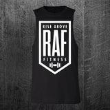 """CLASSIC RAF BADGE"" Custom Cut Muscle Tee"