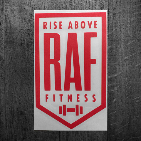 """CLASSIC RAF BADGE"" Vinyl Decal"