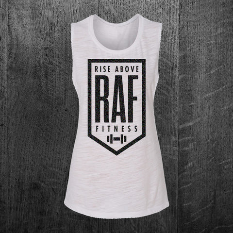 """CLASSIC RAF BADGE"" Muscle Tee"