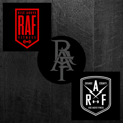 """RAF BADGE - MONOGRAM - SHIELD"" Sticker Pack"