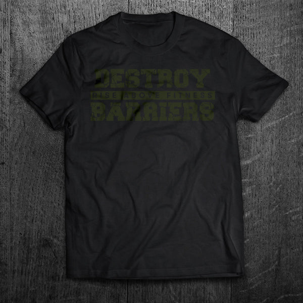"""DESTROY BARRIERS"" Tee"