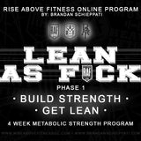 """LEAN AS FCK"" Online Program"