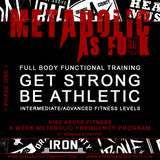 """METABOLIC AS FCK"" Online Program"