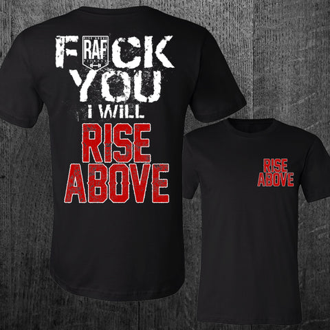 """I WILL RISE ABOVE"" Tee"
