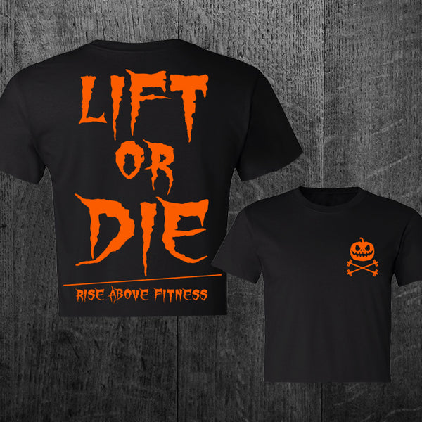 "LIMITED ""LIFT OR DIE"" Halloween Women's Crop Tee"