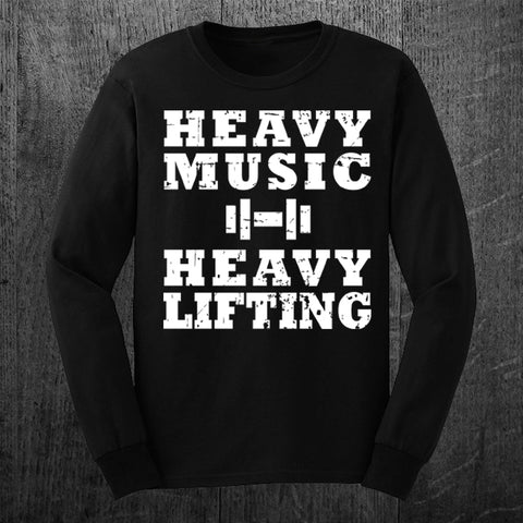 """HEAVY MUSIC"" Long Sleeve Tee"