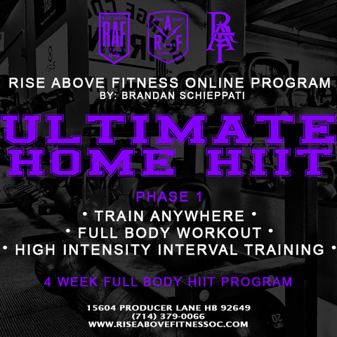 ULTIMATE HOME HIIT Online Program