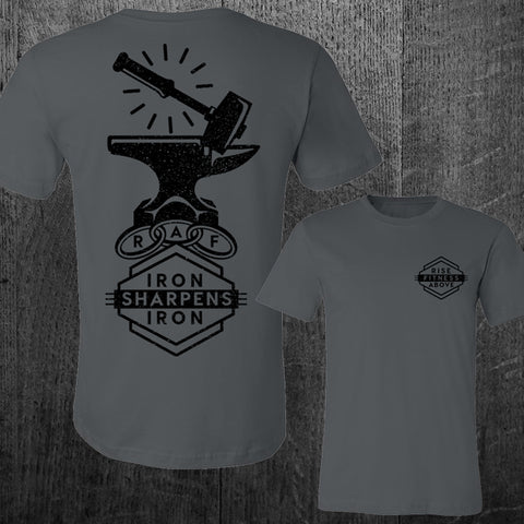"""IRON SHARPENS IRON"" Tee"