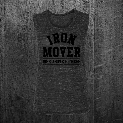 """IRON MOVER"" Muscle Tee"