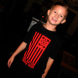 "Kid's ""ONE NATION UNDER IRON"" Tee"
