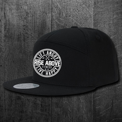"""STILL ANGRY"" 7 Panel Snapback"