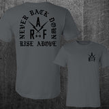 """NEVER BACK DOWN"" Tee"