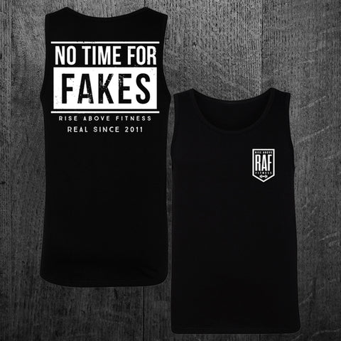 """NO TIME FOR FAKES"" Tank"