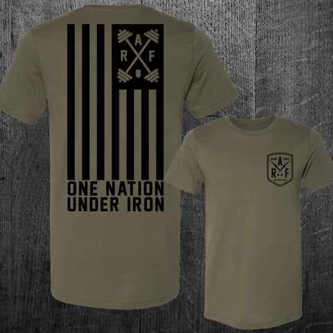 """ONE NATION UNDER IRON"" Tee"
