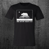 """ONE NATION UNDER IRON"" California Wildfire Relief Benefit Tee"