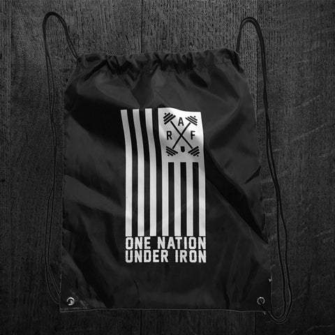 """ONE NATION UNDER IRON"" Nylon Tote"