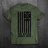 "Limited ""ONE NATION UNDER IRON"" Tee"
