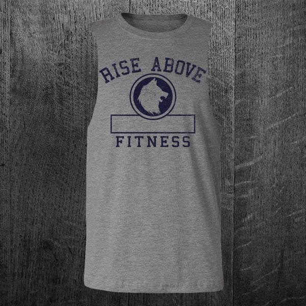 """PHYS ED"" Custom Cut Muscle Tee"