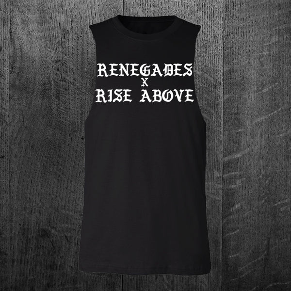 """RENEGADES"" Custom Cut Muscle Tee"