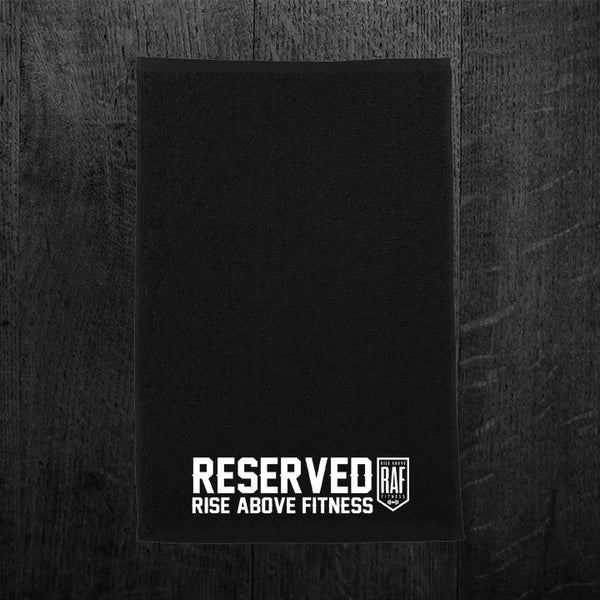 """RESERVED"" Gym Towel"