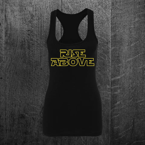 """RISE ABOVE"" Star Wars Tribute Racerback"