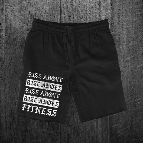 """RISE ABOVE FITNESS"" Sweat Shorts"