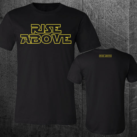 """RISE ABOVE"" Star Wars Tribute Tee"