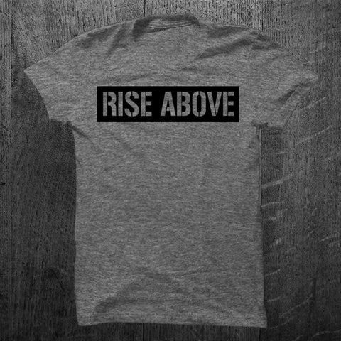 """RISE ABOVE"" Vintage Tee"