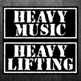 """STILL HEAVY"" Vinyl Sticker"