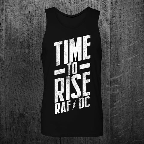 """TIME TO RISE"" Unisex Tank"