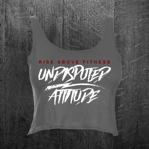 """UNDISPUTED ATTITUDE"" Crop Tank Top"